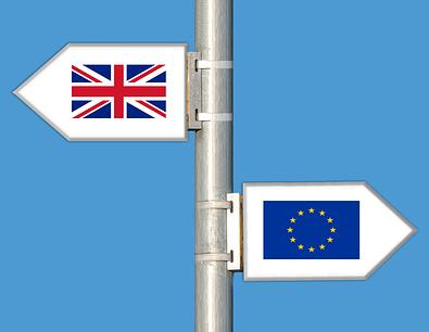 Brexit UK EU parting signs